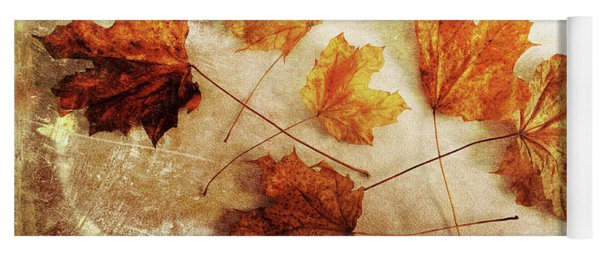 Yoga Mat featuring the photograph Fall Keepers by Randi Grace Nilsberg