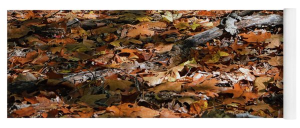 Fall Leaves Yoga Mat