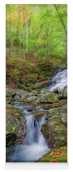 Yoga Mat featuring the photograph Falls Brook 2 by Bill Wakeley