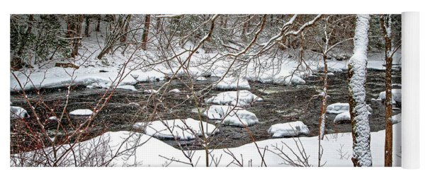 Farmington River - Northern Section Yoga Mat