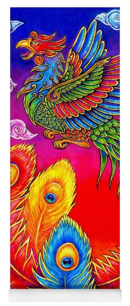 Fenghuang Chinese Phoenix Yoga Mat