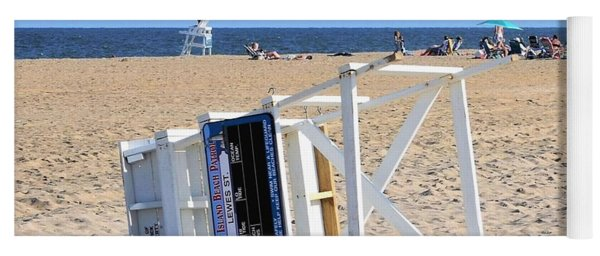 Fenwick Island Lifeguard Chair Yoga Mat