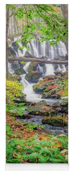 Yoga Mat featuring the photograph Fern Falls by Bill Wakeley