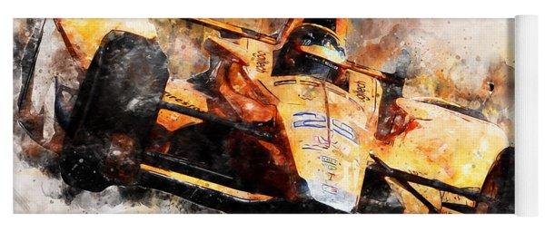 Fernando Alonso, Indy 500 - 04 Yoga Mat