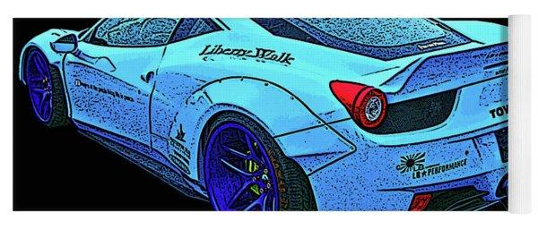 Ferrari 458 Liberty Walk Yoga Mat