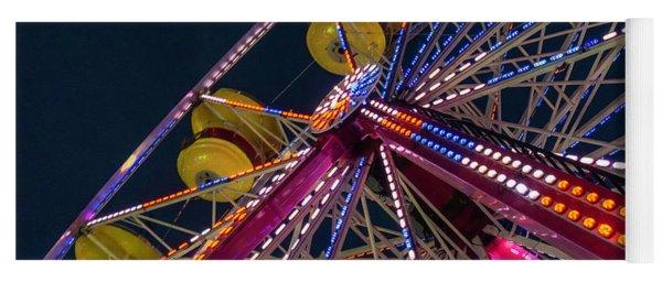 Ferris Wheel At Night Yoga Mat