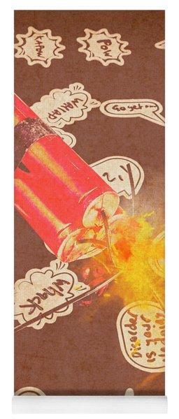Fiery Fuse Yoga Mat
