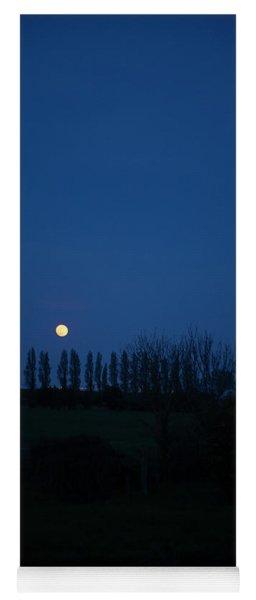 Fine Art Moon Photo 21 Yoga Mat