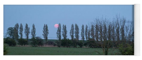 fine art Red Moon photo 2 Yoga Mat