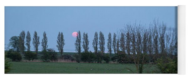 fine art Red Moon photo 2 Yoga Mat