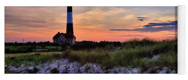 Fire Island Lighthouse Yoga Mat