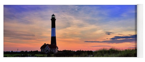 Fire Island Lighthouse Yoga Mat
