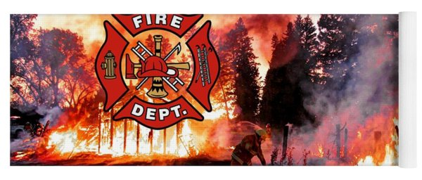 Firefighting 2 Yoga Mat