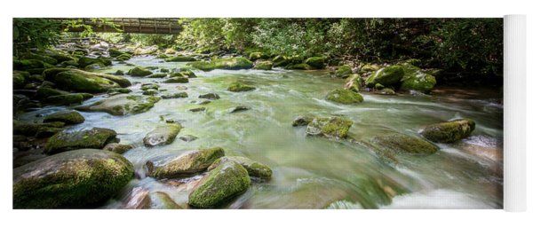 Yoga Mat featuring the photograph Fires Creek, North Carolina by Mark Duehmig