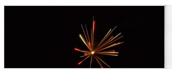 Fireworks A Star Is Born Yoga Mat