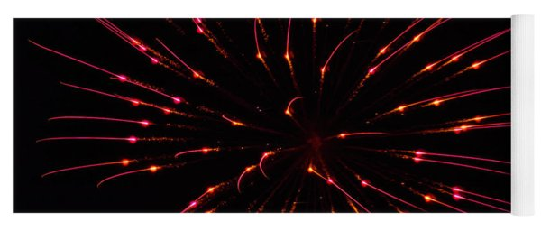 Fireworks Attraction Yoga Mat