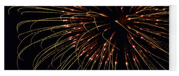 Fireworks Bad Hair Day Yoga Mat