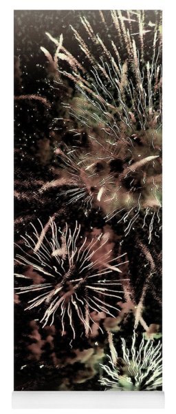 Fireworks In The Cosmos - Brainstorm Yoga Mat