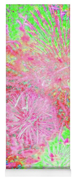 Fireworks In The Cosmos - Celebration Yoga Mat