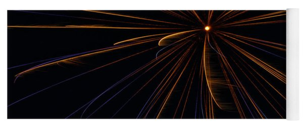 Fireworks Sputnik Yoga Mat