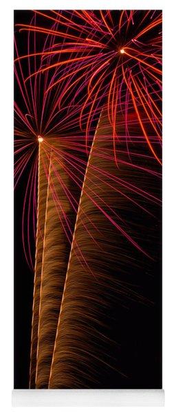 Fireworks Zoom Yoga Mat