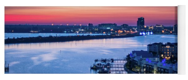 Firstlight Over Clearwater Yoga Mat