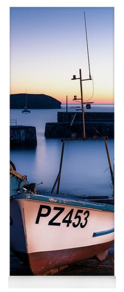 Fishing Boat In Mullion Cove Yoga Mat