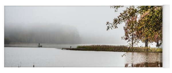 Fishing In The Fog - Color Yoga Mat