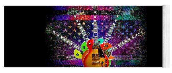 Five Guitars Yoga Mat