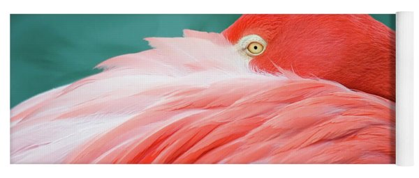 Flamingo At Rest Yoga Mat