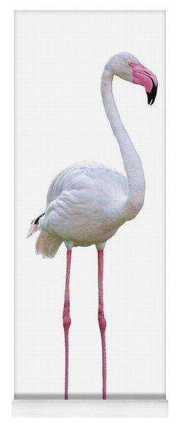 Flamingo Facing Side Extracted Yoga Mat