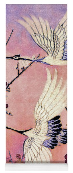 Flight Of The Cranes - Kimono Series Yoga Mat