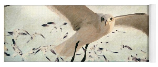 Flight Of The Gulls Yoga Mat