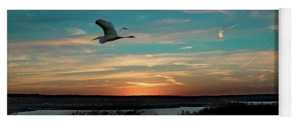 Flight To The Lake Yoga Mat