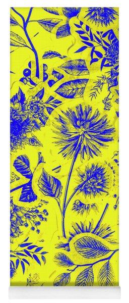 Flora And Foliage Yoga Mat