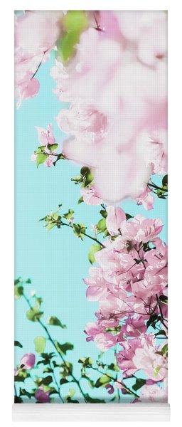 Floral Dreams I Yoga Mat