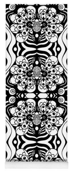 Floral Expressions Yoga Mat