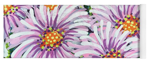 Floral Whimsy 1 Yoga Mat