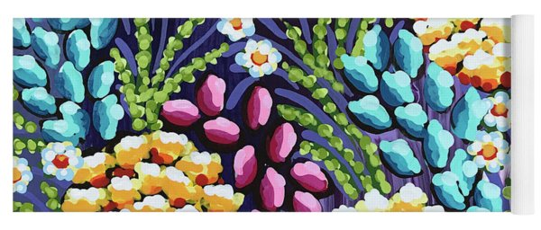 Floral Whimsy 2 Yoga Mat