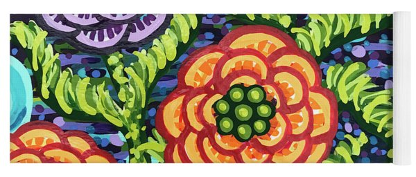 Floral Whimsy 5 Yoga Mat