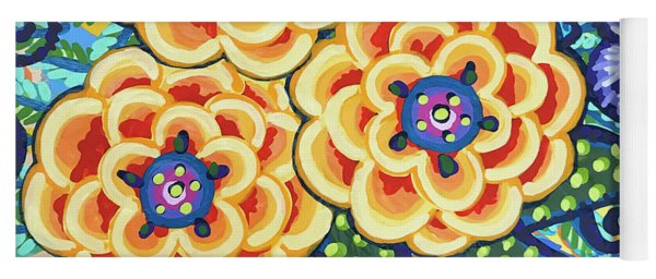 Floral Whimsy 9 Yoga Mat