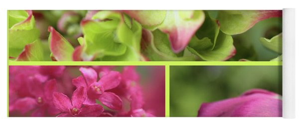 Flora's Springtime Splendour Yoga Mat