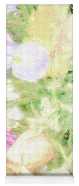Flower Bouquet - Renoir Effect Yoga Mat