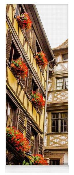 Flower Boxes Strasbourg Yoga Mat