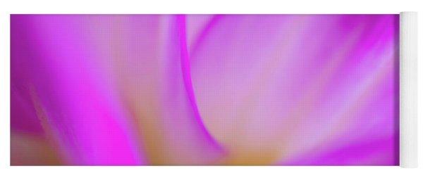 Flower Close Up Yoga Mat