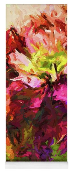 Flower Colour Love 2 Yoga Mat