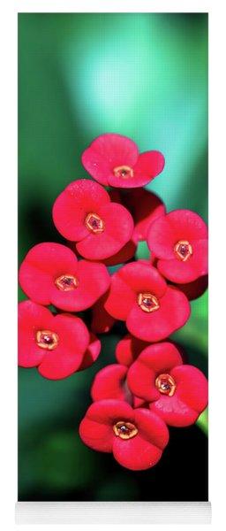 Flower Parade Yoga Mat