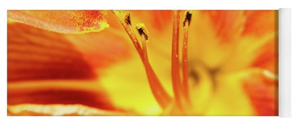 Flower Pollen Yoga Mat