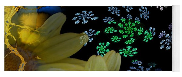 Flower Power In The Modern Age Yoga Mat