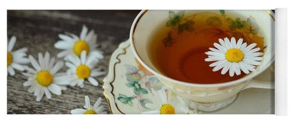 Flower Tea Yoga Mat